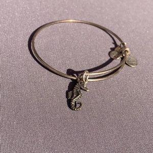Silver Alex and Ani bracelet